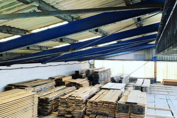 Holzhandwerk Bertsch Holzlager_eiche